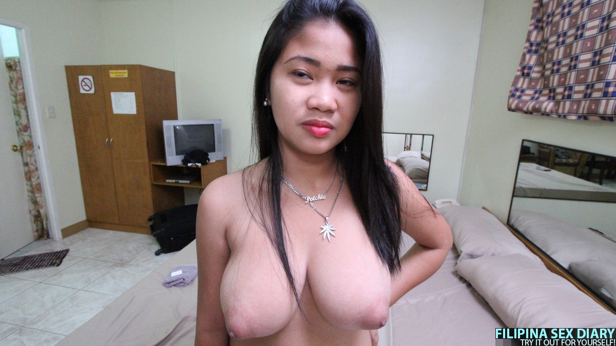 Filipina big tit pinay sex with foreigner 2